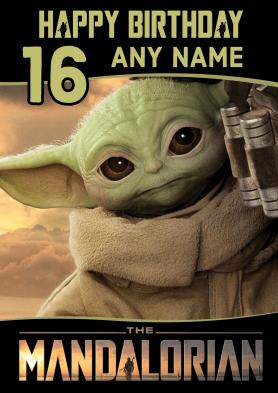 PERSONALISED Baby Yoda...