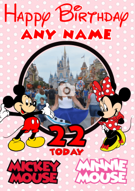 PERSONALISED Micky and...