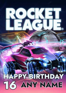 PERSONALISED Rocket League...