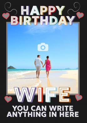 PERSONALISED Wife Birthday...