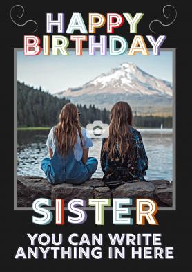 PERSONALISED Sister...