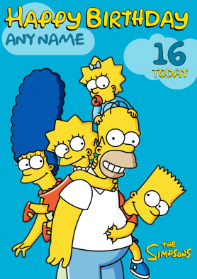 PERSONALISED The Simpsons...