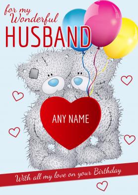 PERSONALISED Husband...