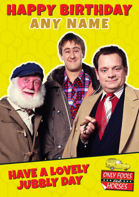 PERSONALISED Only Fools and...