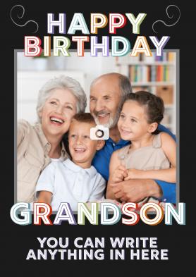 PERSONALISED Grandson...