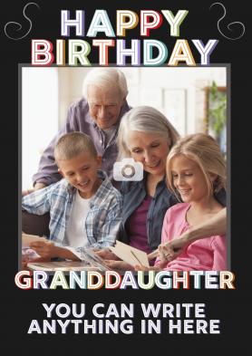 PERSONALISED Granddaughter...