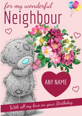 PERSONALISED Neighbour...