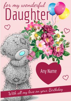 PERSONALISED Daughter Tatty...