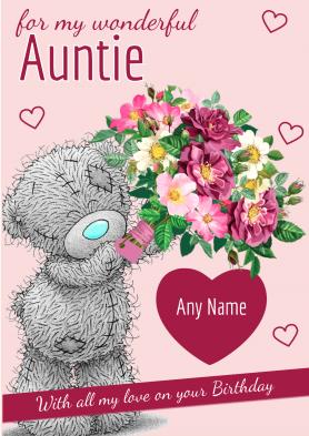 PERSONALISED Auntie Tatty...