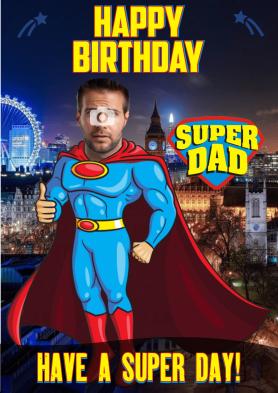 PERSONALISED Super Dad...