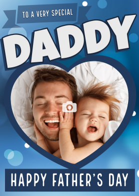 PERSONALISED Daddy Heart...
