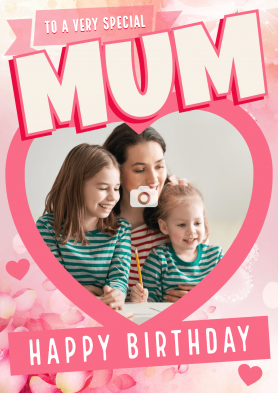 PERSONALISED Mum Heart...