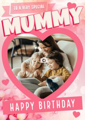 PERSONALISED Mummy Heart...