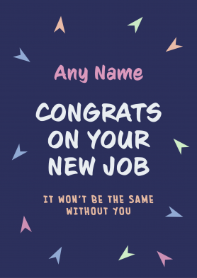 PERSONALISED Congrats on...