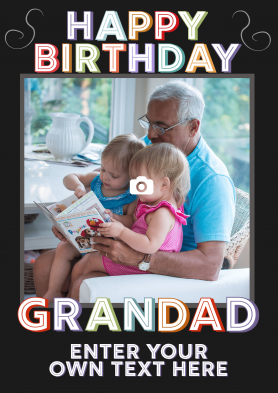 PERSONALISED Grandad...