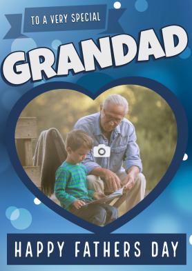 PERSONALISED Grandad Heart...
