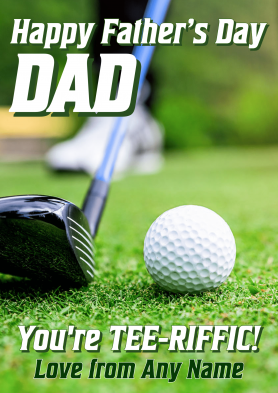 PERSONALISED Golf Fathers...