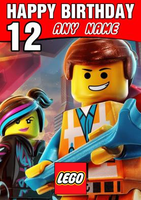 PERSONALISED Lego Emmet...