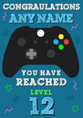 PERSONALISED Gamer Level...