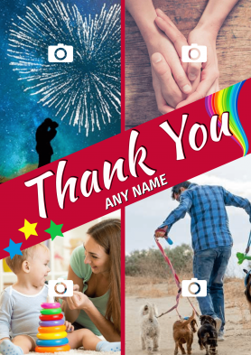 PERSONALISED Thank You 4...