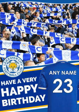 PERSONALISED Leicester City...