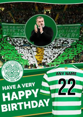 PERSONALISED Celtic 21/22...