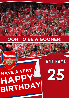 PERSONALISED Arsenal 21/22...