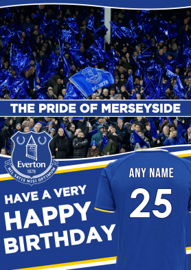 PERSONALISED Everton 21/22...